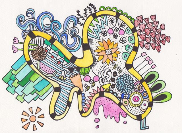 Summer - Ilustration Friday