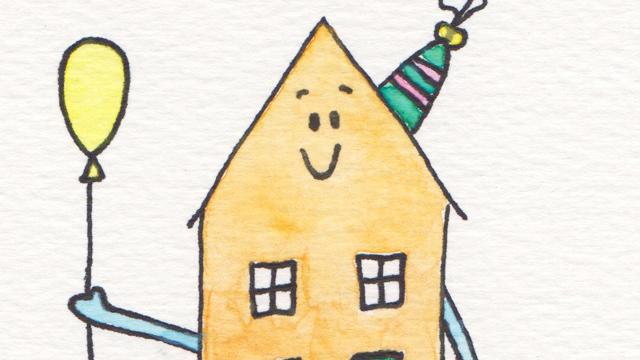 verhuis- en verjaardagskaart