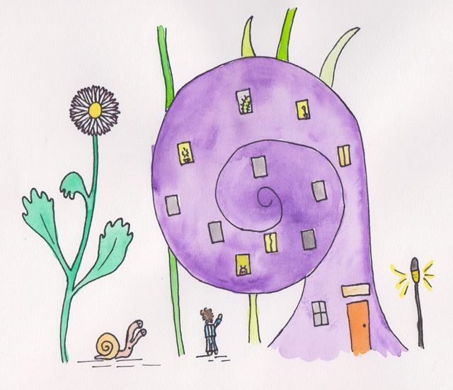 Illustratie Erik of het klein insectenboek