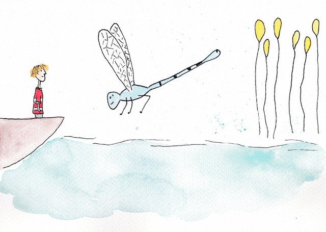 illustratie De Kleine Johannes door Lisanne Lentink