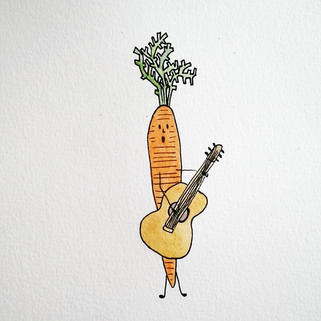 illustratie bij de beste singer-songwriter van Nederland