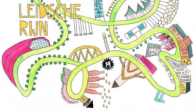 tekening Leidsche Rijn door Lisanne Lentink