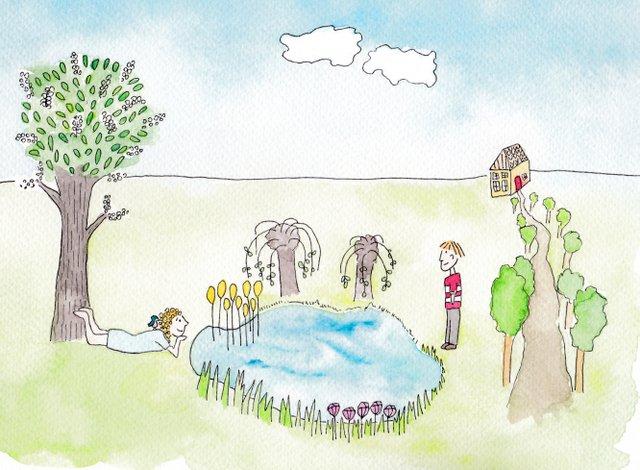 tekeningen De Kleine Johannes door Lisanne Lentink